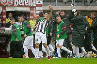 Esultanza , Goal Celebration , Arturo Vidal  Juventus.Torino 28/04/2013 Stadio Olimpico di Torino.Football Calcio Serie A  2012/13.Torino vs Juventus.Foto Insidefoto Federico Tardito