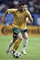 Fotball<br /> Confederations Cup 2005<br /> 15.06.2005<br /> Tyskland v Australia<br /> Foto: Dppi/Digitalsport<br /> NORWAY ONLY<br /> <br /> BRETT EMERTON (AUS)