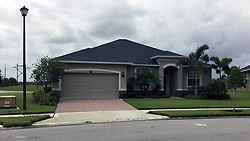October 2, 2017 - Melbourne, Florida, U.S. - Stephen Paddock owned this home from 2013 to 2015 in the Heritage Isle section of Viera, a community west of Melbourne in Brevard County. Paddock is the gunman who killed more than 50 people and injured hundreds of others in Las Vegas on Oct. 1, 2017. (Credit Image: © Elia, Tom (Cmg-Westpalm/The Palm Beach Post via ZUMA Wire)
