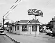 ackroyd-03503-4. Sandy Hut tavern, 1430 NE Sandy, March 26, 1952