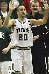 15 December 2012:  Pat Sodemann during an NCAA mens division 3 basketball game between theUniversity of Chicago Maroons and the Illinois Wesleyan Titans in Shirk Center, Bloomington IL