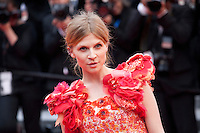Actress and model Clemence Poesy at the Closing Palm D'Or Awards Ceremony at the 69th Cannes Film Festival, Sunday 22nd May 2016, Cannes, France. Photography: Doreen Kennedy