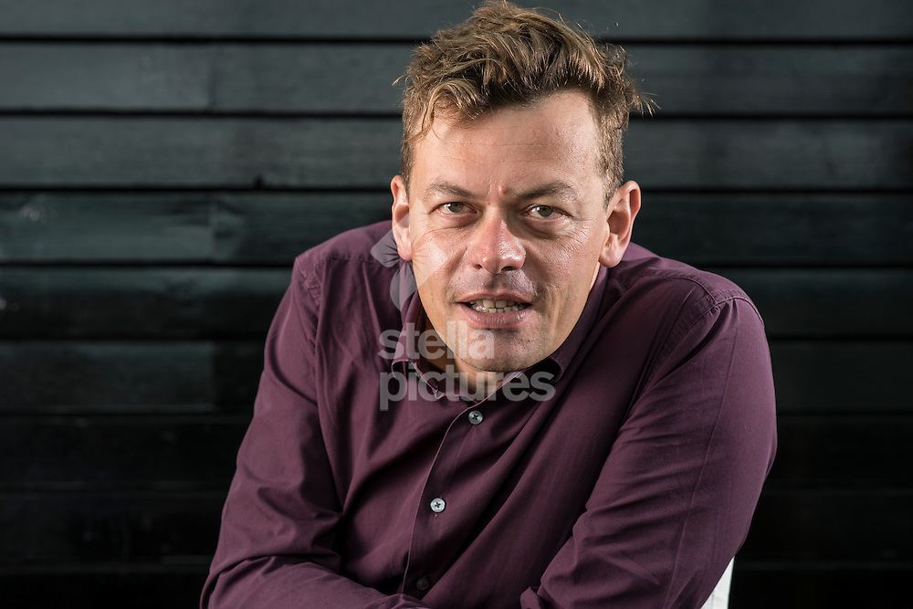 English playwright Simon Stephens.<br /> With thanks to Boundary Restaurant, London.<br /> Picture by Daniel Hambury/Stella Pictures Ltd +44 7813 022858<br /> 24/08/2015