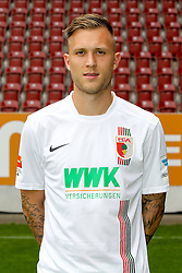 08.07.2015, WWK Arena, Augsburg, GER, 1. FBL, FC Augsburg, Fototermin, im Bild Tim Rieder #40 (FC Augsburg) // during the official Team and Portrait Photoshoot of German Bundesliga Club FC Augsburg at the WWK Arena in Augsburg, Germany on 2015/07/08. EXPA Pictures © 2015, PhotoCredit: EXPA/ Eibner-Pressefoto/ Kolbert<br /> <br /> *****ATTENTION - OUT of GER*****