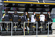 Renault F1 Team pit gantry. Austrian Grand Prix,  3rd July 2020. Spielberg, Austria. FIA Pool Image for Editorial Use Only<br /> © FIA/F1 - POOL  image - service by ATP Munich - rights are with FIA and the image should be marked as Handout by FIA
