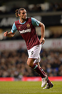 Andy Carroll of West Ham United looking on. Barclays Premier league match, Tottenham Hotspur v West Ham Utd at White Hart Lane in London on Sunday 22nd November 2015.<br /> pic by John Patrick Fletcher, Andrew Orchard sports photography.