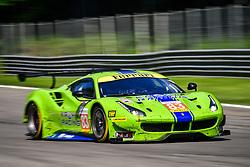 May 13, 2018 - Monza, Italie - 83 KROHN RACING (USA) FERRARI F488 GTE GTE TRACY KROHN (USA) NICLAS JONSSON (SWE) ANDREA BERTOLINI  (Credit Image: © Panoramic via ZUMA Press)