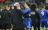 Leicester City's ex Manager Claudio Ranieri with Leicester City's Ben Chilwell<br /> <br /> Photographer Rachel Holborn/CameraSport<br /> <br /> The Premier League - Saturday 10th November 2018 - Leicester City v Burnley - King Power Stadium - Leicester<br /> <br /> World Copyright © 2018 CameraSport. All rights reserved. 43 Linden Ave. Countesthorpe. Leicester. England. LE8 5PG - Tel: +44 (0) 116 277 4147 - admin@camerasport.com - www.camerasport.com