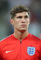 Football - 2018 FIFA World Cup - Group G: England vs. Tunisia<br /> <br /> John Stones of England is seen at Volgograd Arena, Volgograd.<br /> <br /> COLORSPORT/IAN MACNICOL
