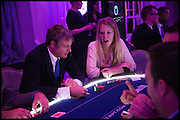 ZACH GOLDSMITH; ALICE GOLDSMITH, Quintessentially Foundation Poker Night,  annual poker night,  to raise money for Right to play, Greenhouse and Place2Be. Savoy. 13 November 2014.