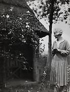 Anne Douglas Sedgwick, (Mrs Basil de Selincourt), novelist, England, UK, 1926