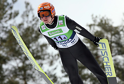 Harri Olli (FIN) at Flying Hill Team in 3rd day of 32nd World Cup Competition of FIS World Cup Ski Jumping Final in Planica, Slovenia, on March 21, 2009. (Photo by Vid Ponikvar / Sportida)
