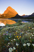 Swiftcurrent Lake in Many Glacier, Glacier National Park