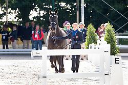 Melanie Hofmann, (SUI), Gb Cazzago C - Horse Inspection Dressage - Alltech FEI World Equestrian Games™ 2014 - Normandy, France.<br /> © Hippo Foto Team - Leanjo de Koster<br /> 25/06/14