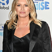 Tina Hobley arrivers at the Global's Make Some Noise Night at Finsbury Square Marquee on 20 November 2018, London, UK.