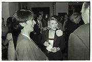 Joan Rivers, Ghislaine Maxwell, Chinese Porcelain Co. Manhattan, Nov. 1995.