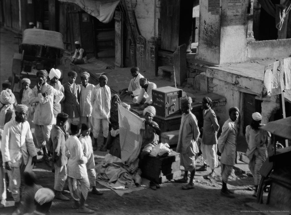 Street Vendors, Udaipur, India, 1929