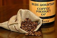 Zdjecie ilustracyjne N/z ziarna naturalnej kawy  fot Michal Kosc / AGENCJA WSCHOD
