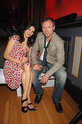 GARY KEMP and his wife LAUREN at the M.A.C. Viva Glam party featuring a performance by Dita Von Teese of 'Lipteese' held at the Bloomsbury Ballroom, Victoria House, Bloomsbury Square, London on 27th June 2007.<br /><br />NON EXCLUSIVE - WORLD RIGHTS