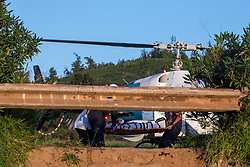 Patient Being Airlifted From Papua Gulch