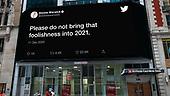 December 21, 2020 (Worldwide): Twitter Billboards Tweets Of 2020