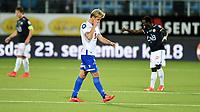 Fotball , 11. september 2015 ,   Eliteserien , Tippeligaen <br /> Strømsgodset - Haugesund 5-0<br /> Christian Gytkjær , Haugesund depper og blir byttet ut