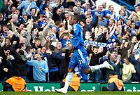 Photo: Ed Godden/Sportsbeat Images.<br /> Chelsea v Tottenham Hotspur. The FA Cup. 11/03/2007.<br /> Chelsea's Salomon Kalou celebrates scoring to make it 3-3.