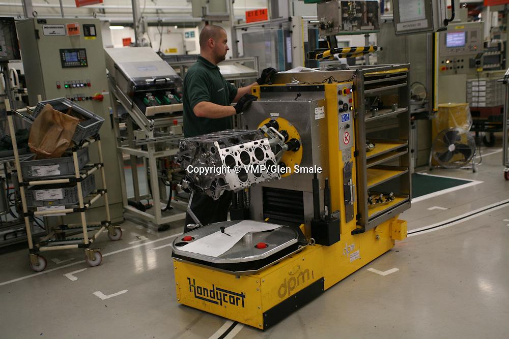Bentley Engine Assembly, Bentley Factory Visit, Crewe 2010