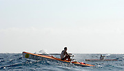 San Remo, Italy,  M1X on the open water. FISA Coastal World Championships. Fri. 17.10.2008.[Photo, Peter Spurrier/Intersport-images] Coastal Rowing Course: San Remo Beach, San Remo, ITALY