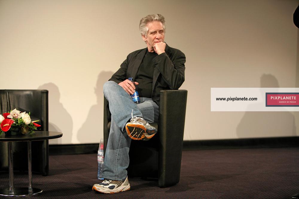 David Cronenberg - Festival de Cannes - Leçon de musique - 21/05/2007 - JSB / PixPlanete