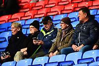 Fleetwood Town fans look on<br /> <br /> Photographer Richard Martin-Roberts/CameraSport<br /> <br /> The EFL Sky Bet League One - Bolton Wanderers v Fleetwood Town - Saturday 2nd November 2019 - University of Bolton Stadium - Bolton<br /> <br /> World Copyright © 2019 CameraSport. All rights reserved. 43 Linden Ave. Countesthorpe. Leicester. England. LE8 5PG - Tel: +44 (0) 116 277 4147 - admin@camerasport.com - www.camerasport.com