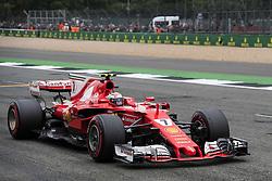 July 15, 2017 - Silverstone, Great Britain - Motorsports: FIA Formula One World Championship 2017, Grand Prix of Great Britain, ..#7 Kimi Raikkonen (FIN, Scuderia Ferrari) (Credit Image: © Hoch Zwei via ZUMA Wire)