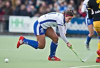 UTRECHT - Kampong-speelster Dirkie Chamberlain, zondag tijdens de competitiewedstrijd tussen de vrouwen van Kampong en Den Bosch (0-1) FOTO KOEN SUYK