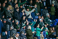 Plymouth fans before the EFL Sky Bet League 1 match between Wycombe Wanderers and Plymouth Argyle at Adams Park, High Wycombe, England on 26 January 2019.