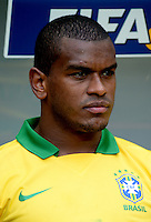 Fifa Brazil 2013 Confederation Cup / Group A Match /<br /> Brazil vs Japan 3-0  ( National / Mane Garrincha Stadium - Brasilia , Brazil )<br /> FERNANDO of Brazil , during the match between Brazil and Japan