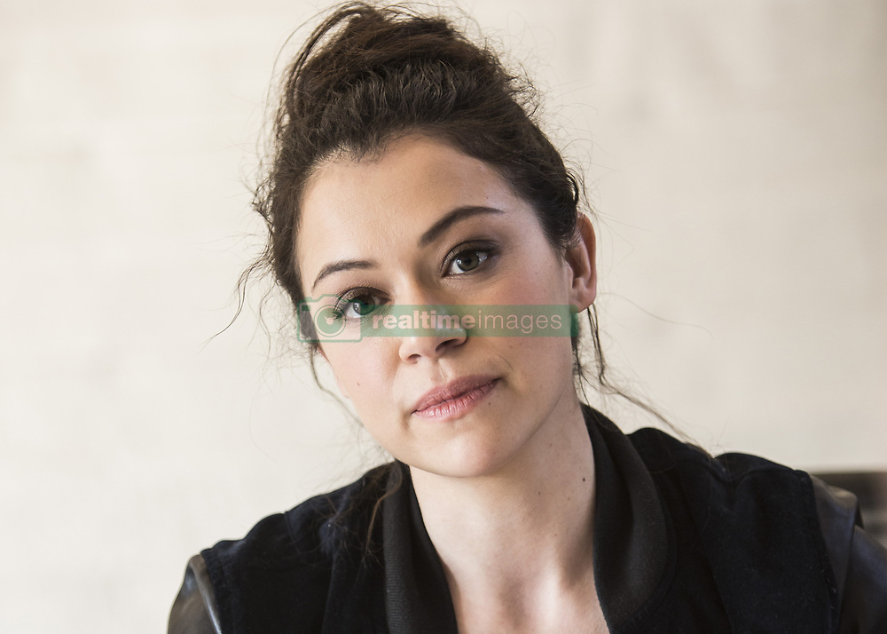 March 23, 2017 - Hollywood, California, U.S. - TATIANA MASLANY promotes TV series 'Orphan Black' Tatiana Gabriele Maslany (born September 22, 1985) is a Canadian actress. She has starred in television series such as The Nativity, Being Erica, Heartland, and Orphan Black. In 2013, she won the ACTRA Award for her portrayal as Claire in the film Picture Day and the Phillip Borsos Award for her performance in the film Cas and Dylan. Other notable films starring Maslany are Diary of the Dead and Eastern Promises, the latter of which she narrated. Since March 2013, Maslany has played the lead in the Canadian science fiction thriller series Orphan Black. She has received widespread critical acclaim for her performance, winning the Primetime Emmy Award (2016), the TCA Award (2013), two Critics' Choice Television Awards (2013 & 2014), and four Canadian Screen Awards (2014–2017), in addition to receiving a Golden Globe Award and Screen Actors Guild Award nomination. After winning the award for Best Lead Actress in a Drama Series at the 2016 Primetime Emmy Awards for her role on Orphan Black, Maslany became the first Canadian actor from a Canadian series to win an Emmy Award in a key dramatic category. Upcoming: Stronger (2017), Apart from Everything (Short 2016). (Credit Image: © Armando Gallo via ZUMA Studio)