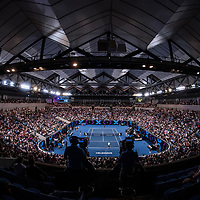 Tie Break Tens at Margaret Court Arena ahead of the Australian Open on Wednesday night, January 10, 2018.<br /> (Ben Solomon/Tennis Australia)
