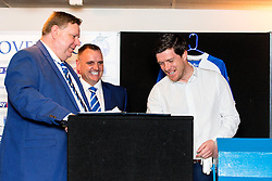 Bristol Rovers Manager Darrell Clarke conducts the draw at the Sponsors Draw - Mandatory by-line: Robbie Stephenson/JMP - 15/04/2016 - FOOTBALL - The Memorial Ground - Bristol, England -  v  - Bristol Rovers Sponsor Draw