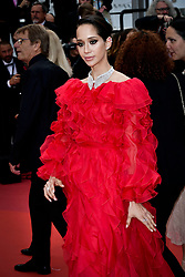 """""""Oh Mercy! (Roubaix, Une Lumiere)""""Red Carpet - The 72nd Annual Cannes Film Festival. 22 May 2019 Pictured: Lana El Sahely. Photo credit: Daniele Cifalà / MEGA TheMegaAgency.com +1 888 505 6342"""