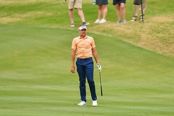 March 24, 2018 - Austin, TX, U.S. - AUSTIN, TX - MARCH 24: Ian Poulter watches his shot during the Round of 16 for the WGC-Dell Technologies Match Play on March 24, 2018 at Austin Country Club in Austin, TX. (Photo by Daniel Dunn/Icon Sportswire) (Credit Image: © Daniel Dunn/Icon SMI via ZUMA Press)