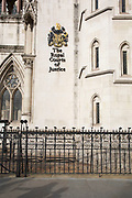 The Royal Courts of Justice, commonly called the Law Courts, is a court building in London which houses both the High Court and Court of Appeal of England and Wales in London, England, United Kingdom.
