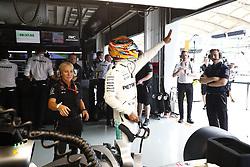 September 29, 2017 - Sepang, Malaysia - Motorsports: FIA Formula One World Championship 2017, Grand Prix of Malaysia, ..#44 Lewis Hamilton (GBR, Mercedes AMG Petronas F1 Team) (Credit Image: © Hoch Zwei via ZUMA Wire)
