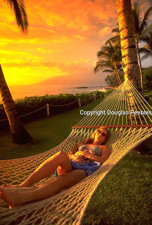 Hammock, Wailea, Maui, Hawaii, USA<br />