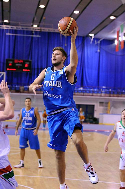Bielorussia, 24/08/2012<br /> Basket, Eurobasket 2013 Qualifying Round<br /> Bielorussia - Italia<br /> Nella foto: stefano mancinelli<br /> Foto Ciamillo