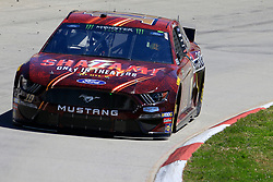 March 23, 2019 - Martinsville, VA, U.S. - MARTINSVILLE, VA - MARCH 23: #10: Aric Almirola, Stewart-Haas Racing, Ford Mustang SHAZAM! / Smithfield during final practice for the STP 500 Monster Energy NASCAR Cup Series race on March 23, 2019 at the Martinsville Speedway in Martinsville, VA.  (Photo by David J. Griffin/Icon Sportswire) (Credit Image: © David J. Griffin/Icon SMI via ZUMA Press)