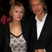 Premiere Songfestival in Concert, Bert Heerink en vrouw Esther van Wolferen