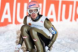 22.02.2016, Puijo, Kuopio, FIN, FIS Weltcup Ski Sprung, Kuopio, Teamspringen, im Bild Stefan Kraft (AUT) // Stefan Kraft of Austria during Mens Teamevent of Kuopio FIS Skijumping World Cup at the Puijo in Kuopio, Finland on 2016/02/22. EXPA Pictures © 2016, PhotoCredit: EXPA/ Tadeusz Mieczynski