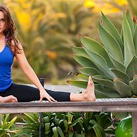 Melissa Jones Outdoor Yoga Portraits