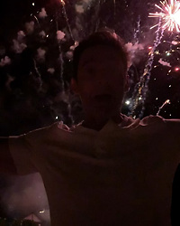 """Hugh Jackman releases a photo on Instagram with the following caption: """"Happy new year!!! #2019"""". Photo Credit: Instagram *** No USA Distribution *** For Editorial Use Only *** Not to be Published in Books or Photo Books ***  Please note: Fees charged by the agency are for the agency's services only, and do not, nor are they intended to, convey to the user any ownership of Copyright or License in the material. The agency does not claim any ownership including but not limited to Copyright or License in the attached material. By publishing this material you expressly agree to indemnify and to hold the agency and its directors, shareholders and employees harmless from any loss, claims, damages, demands, expenses (including legal fees), or any causes of action or allegation against the agency arising out of or connected in any way with publication of the material."""