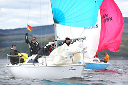 The Silvers Marine Scottish Series 2014, organised by the  Clyde Cruising Club,  celebrates it's 40th anniversary.<br /> Day 1, GBR8215N, Red Hot Poker, Murray Caldwell, Cove SC<br /> <br /> Racing on Loch Fyne from 23rd-26th May 2014<br /> <br /> Credit : Marc Turner / PFM